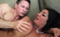Big titty pornstar Milf Nadia Night hard pounded in her muff