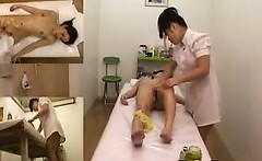 Asian Girl Fingered During A Massage