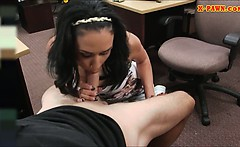 Big titty Latina let the guy fuck her for her to have money