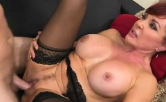 Hot MILF Christina Loves Cum On Her Face