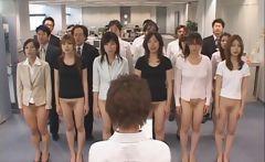 Free jav of Half nude Japanese chicks