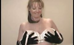 Mature Beauty Stockings And Strip