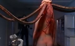 Asami Ogawa Asian babes fight tentacle
