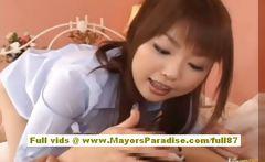 Risa Kasumi amateur asian babe does blowjob