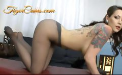 Ashton Pierce Big Tits Panthyhose Fetish