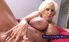 Young pigtailed Angel Cakes fucked by hung black perv in