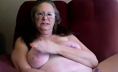grandma found my pink dildo tryout